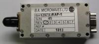 VIDEO TRANSMITTER MODEL BA1297X- RAF-1 REV. 2